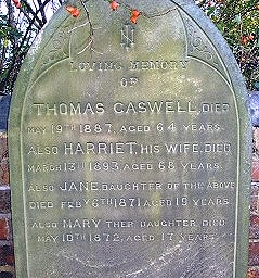 Caswell Grave